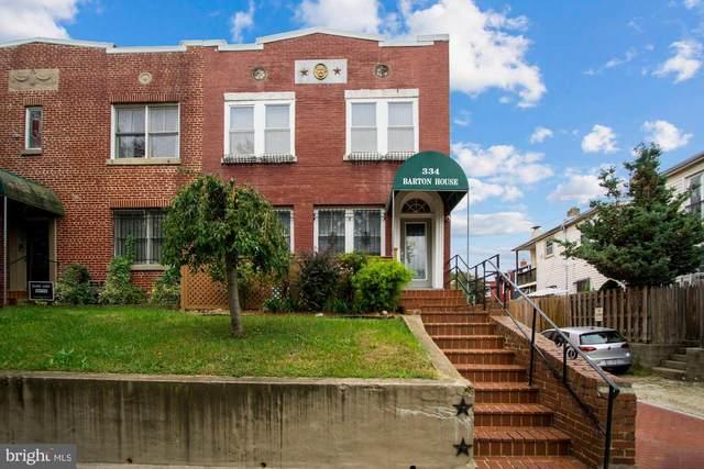 334 14TH Place NE #2, WASHINGTON, DC 20002 (#DCDC2000535) :: Crossman & Co. Real Estate