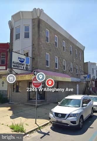 2246 W Allegheny Avenue, PHILADELPHIA, PA 19132 (#PAPH2001432) :: Shamrock Realty Group, Inc