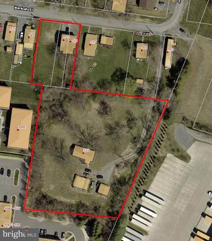 513, 521,523,525 Monticello Street, WINCHESTER, VA 22601 (#VAWI2000030) :: Crossman & Co. Real Estate