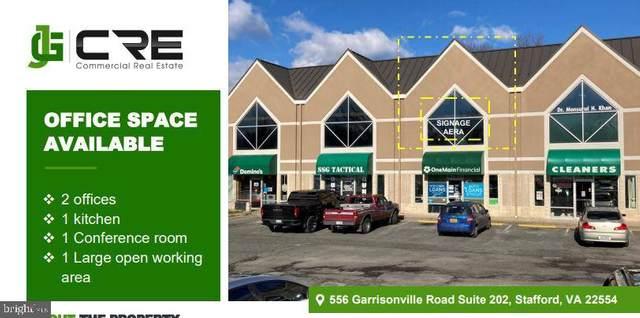 556 Garrisonville #202, STAFFORD, VA 22554 (#VAST2000220) :: The Vashist Group