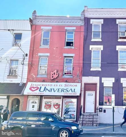 2854 N 5TH Street, PHILADELPHIA, PA 19133 (#PAPH2002342) :: The Yellow Door Team