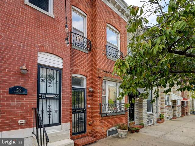 228 S Highland Avenue, BALTIMORE, MD 21224 (#MDBA2001007) :: The Gus Anthony Team