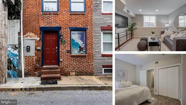 203 S Durham, BALTIMORE, MD 21231 (#MDBA2001017) :: Revol Real Estate