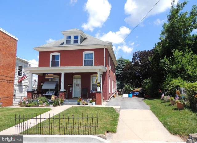 734 W Franklin Street, HAGERSTOWN, MD 21740 (#MDWA2000186) :: The Sky Group