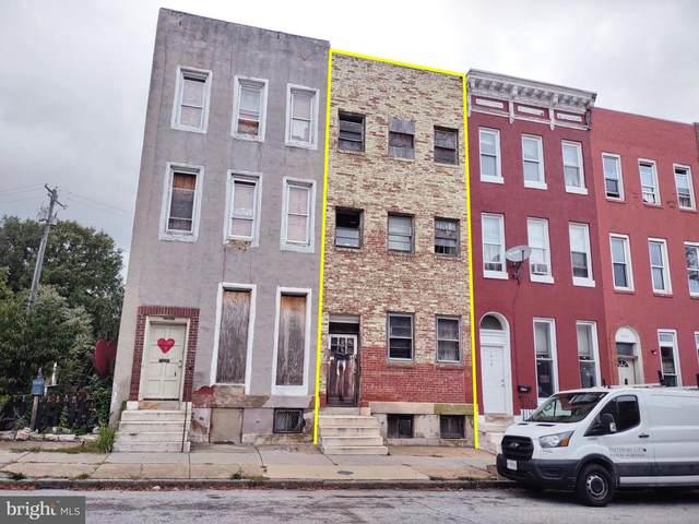 1514 W Lanvale Street, BALTIMORE, MD 21217 (#MDBA2001183) :: Dart Homes
