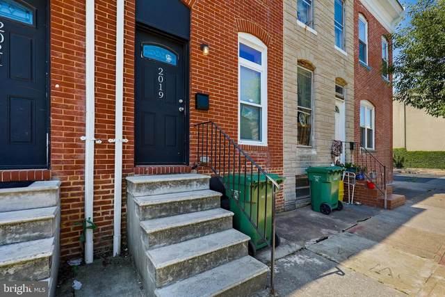 2019 Jefferson Street, BALTIMORE, MD 21205 (#MDBA2001164) :: CENTURY 21 Core Partners