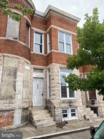 1904 N Fulton Avenue, BALTIMORE, MD 21217 (#MDBA2001317) :: ExecuHome Realty
