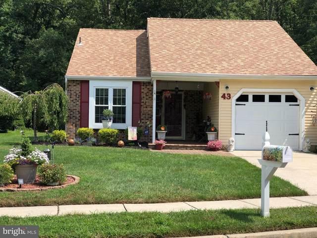 43 Eddystone Way, MOUNT LAUREL, NJ 08054 (#NJBL2000662) :: Holloway Real Estate Group