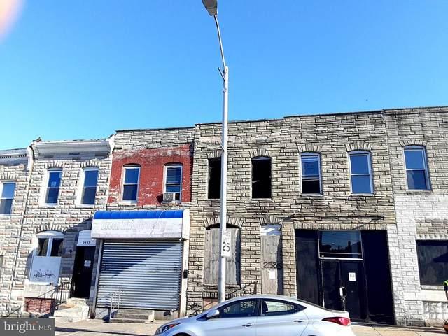 2533 E Monument Street, BALTIMORE, MD 21205 (#MDBA2001772) :: Sunrise Home Sales Team of Mackintosh Inc Realtors