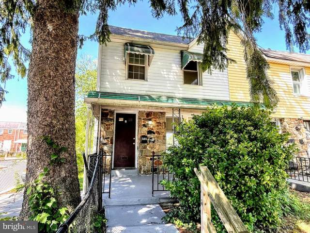 5402 Narcissus Avenue, BALTIMORE, MD 21215 (#MDBA2002084) :: Peter Knapp Realty Group