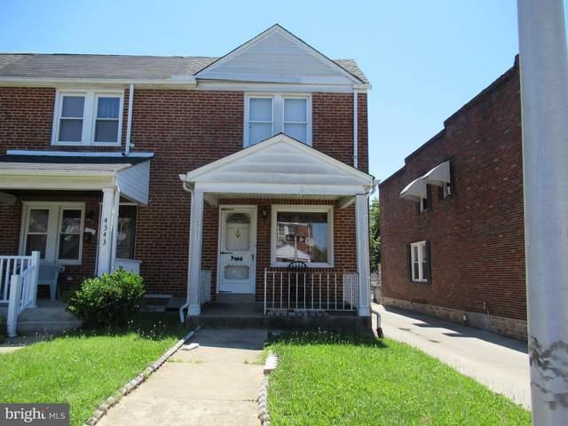 4341 Berger Avenue, BALTIMORE, MD 21206 (#MDBA2002764) :: SURE Sales Group