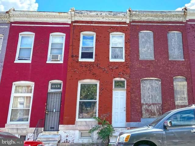 2005 E Lafayette Avenue, BALTIMORE, MD 21213 (#MDBA2002840) :: Talbot Greenya Group