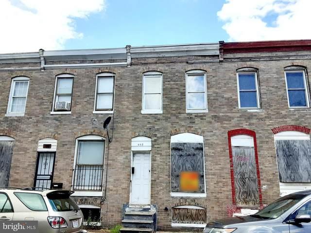 448 Furrow Street, BALTIMORE, MD 21223 (#MDBA2002870) :: Sunrise Home Sales Team of Mackintosh Inc Realtors