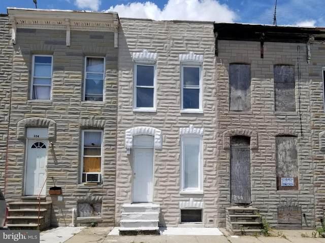 332 S Smallwood Street, BALTIMORE, MD 21223 (#MDBA2003134) :: Charis Realty Group