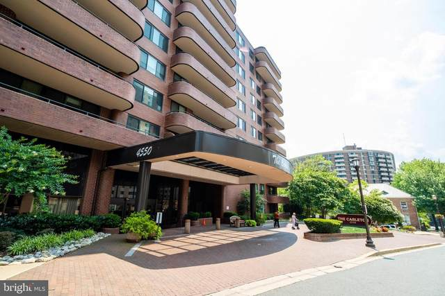 4550 N Park Avenue #607, CHEVY CHASE, MD 20815 (#MDMC2004204) :: City Smart Living
