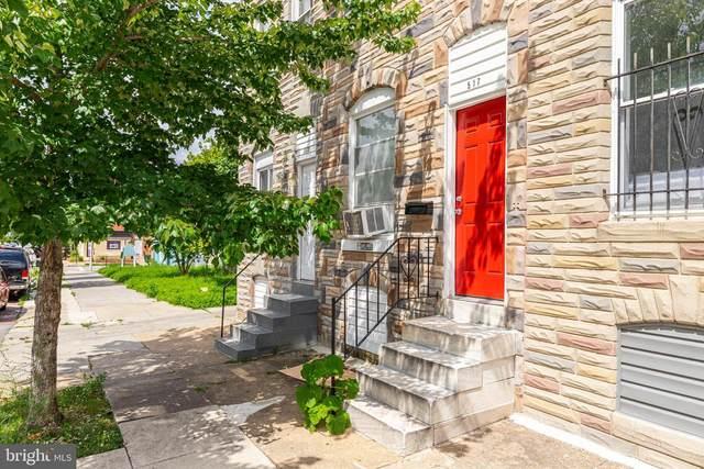 517 N Montford Avenue, BALTIMORE, MD 21205 (#MDBA2003702) :: Sunrise Home Sales Team of Mackintosh Inc Realtors