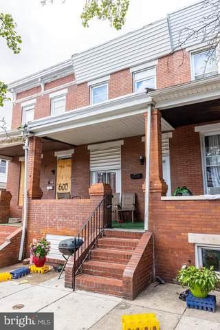 602 N Ellwood Avenue, BALTIMORE, MD 21205 (#MDBA2003864) :: Sunrise Home Sales Team of Mackintosh Inc Realtors