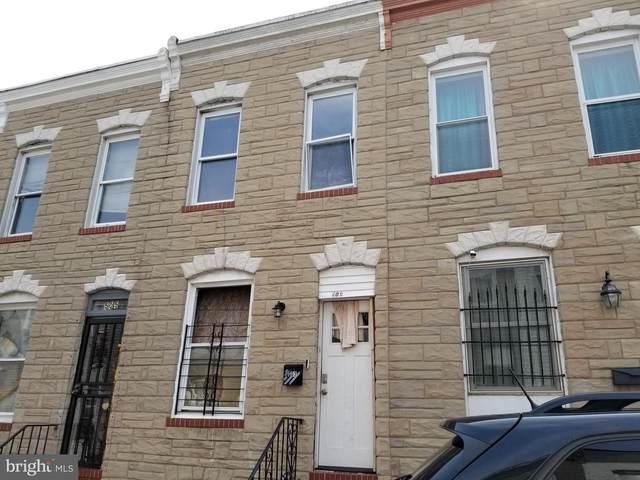 503 N Port Street, BALTIMORE, MD 21205 (#MDBA2004080) :: Sunrise Home Sales Team of Mackintosh Inc Realtors