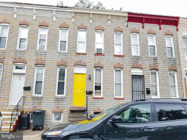 336 S Woodyear Street, BALTIMORE, MD 21223 (#MDBA2004150) :: Lee Tessier Team