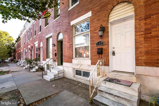 142 N Linwood Avenue, BALTIMORE, MD 21224 (#MDBA2004180) :: The Dailey Group