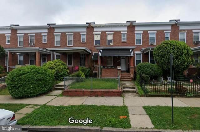 1821 E 31ST Street, BALTIMORE, MD 21218 (#MDBA2004446) :: Corner House Realty