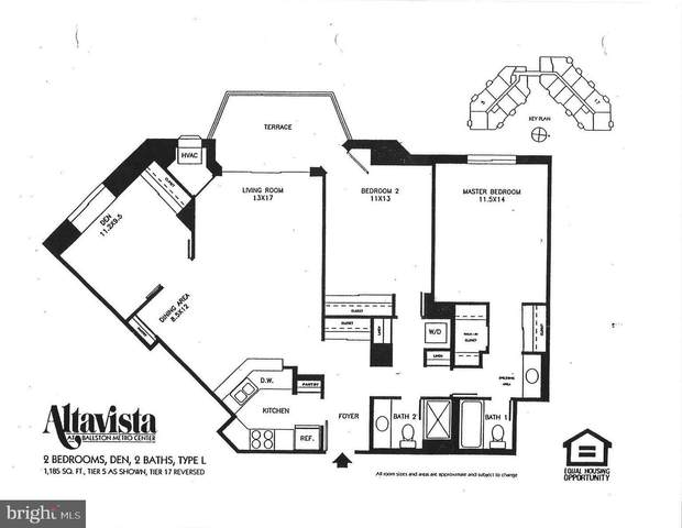 900 N Stafford Street #1117, ARLINGTON, VA 22203 (#VAAR2001982) :: AJ Team Realty