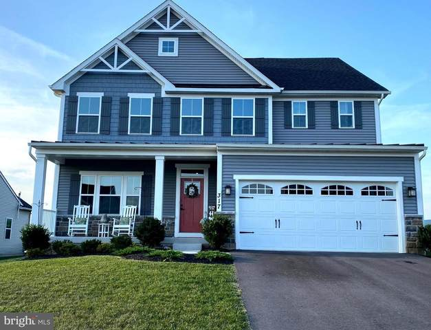 317 Ingalls Drive, MIDDLETOWN, MD 21769 (#MDFR2002356) :: The Lutkins Group