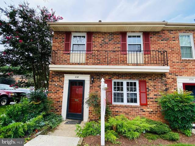 828 College Parkway #9, ROCKVILLE, MD 20850 (#MDMC2006408) :: The Vashist Group