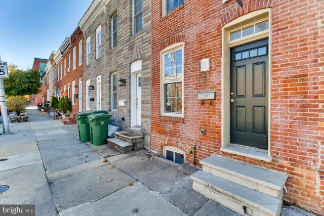 107 E Barney Street, BALTIMORE, MD 21230 (#MDBA2004892) :: Hergenrother Realty Group
