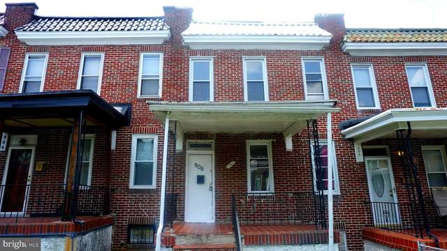 906 N Rosedale Street, BALTIMORE, MD 21216 (#MDBA2005176) :: The MD Home Team