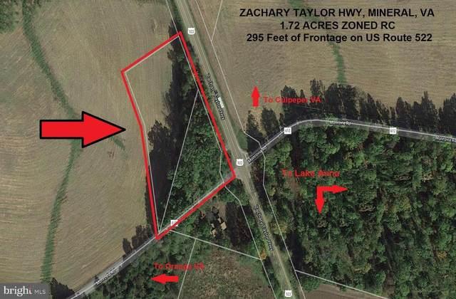 Zachary Taylor Hwy, MINERAL, VA 23117 (#VASP2001366) :: The Yellow Door Team