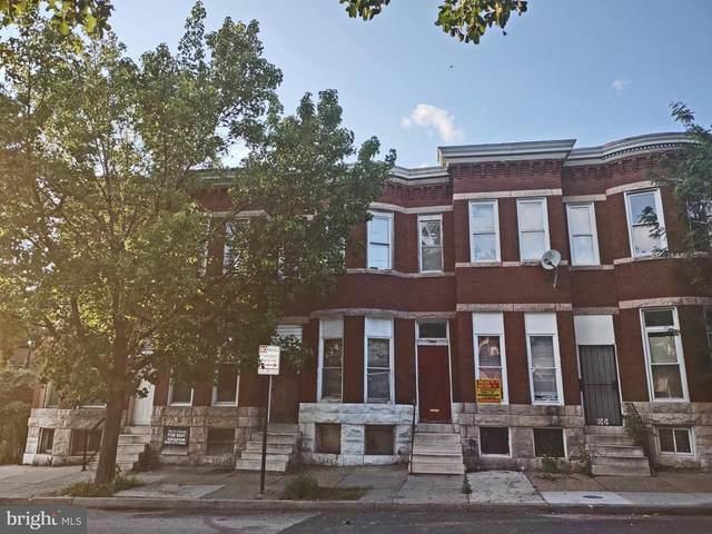 1920 W Lanvale Street, BALTIMORE, MD 21217 (#MDBA2005804) :: The Gold Standard Group