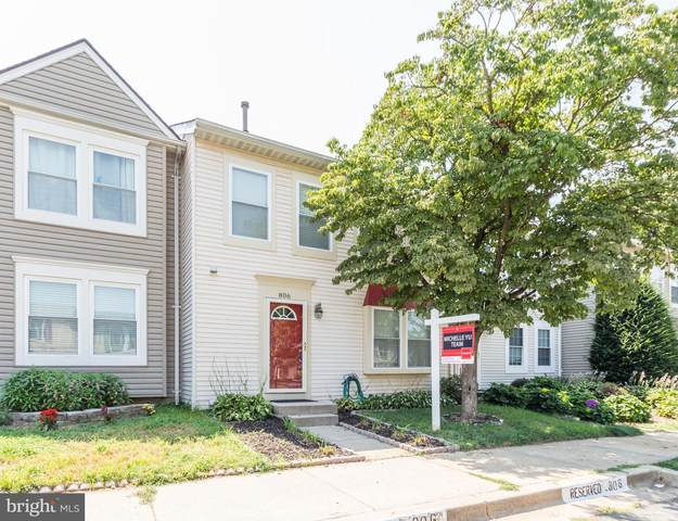 806 Curry Ford Lane, GAITHERSBURG, MD 20878 (#MDMC2007850) :: Ultimate Selling Team