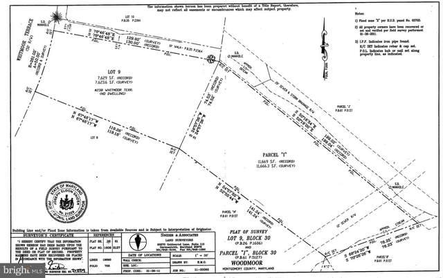 238 Whitmoor Terrace, SILVER SPRING, MD 20901 (#MDMC2008186) :: Shamrock Realty Group, Inc