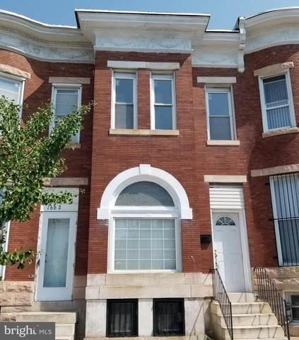1660 W North Avenue, BALTIMORE, MD 21217 (#MDBA2006210) :: Dart Homes