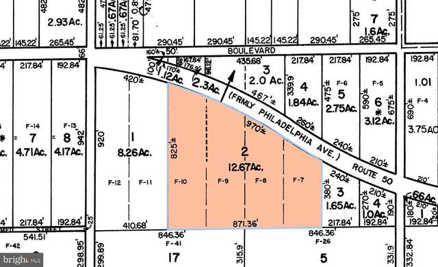Block 881 - Lot 2 Route 50, MAYS LANDING, NJ 08330 (MLS #NJAC2000574) :: The Sikora Group