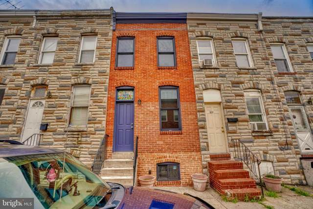 712 N Madeira Street, BALTIMORE, MD 21205 (#MDBA2006358) :: The Mike Coleman Team