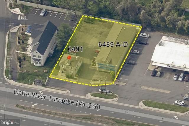 6491 Little River Turnpike #6491, ALEXANDRIA, VA 22312 (#VAFX2012114) :: Hergenrother Realty Group