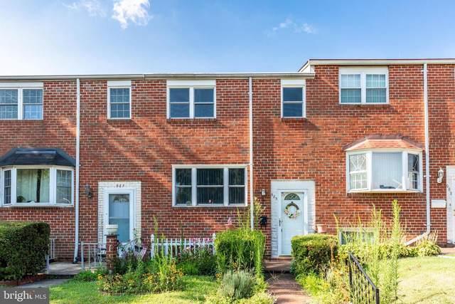 985 Regina Drive, BALTIMORE, MD 21227 (#MDBC2006402) :: Blackwell Real Estate