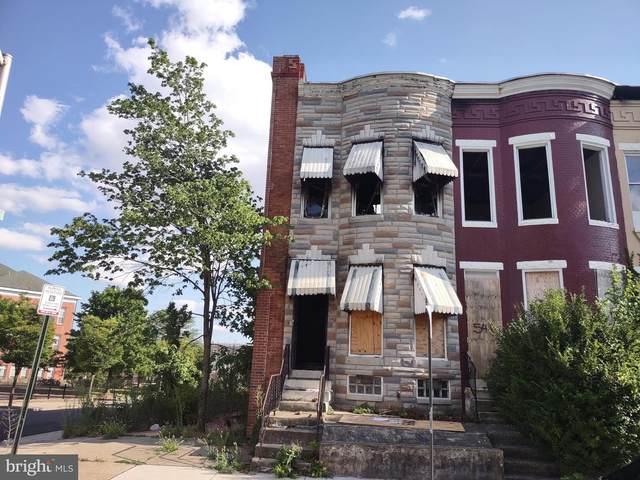 543 E 23RD Street, BALTIMORE, MD 21218 (#MDBA2006988) :: Pearson Smith Realty