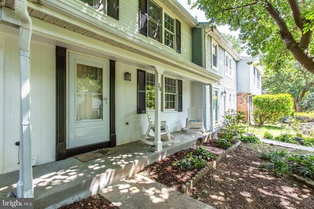 20 Turtle Dove Court, GAITHERSBURG, MD 20879 (#MDMC2009444) :: Jacobs & Co. Real Estate