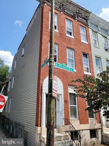 513 N Arlington Avenue, BALTIMORE, MD 21223 (#MDBA2009354) :: Dart Homes