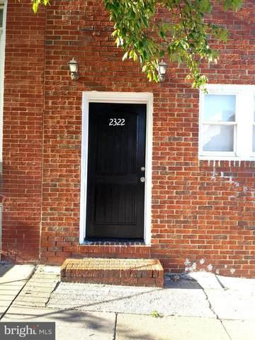 2322 E Fayette Street, BALTIMORE, MD 21224 (#MDBA2009600) :: SURE Sales Group
