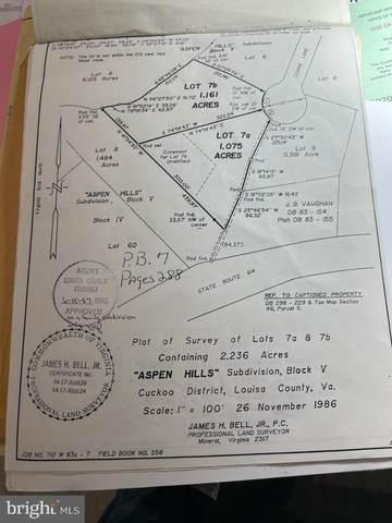 Lot 7A Connie Ln, BUMPASS, VA 23024 (#VALA2000450) :: Dart Homes
