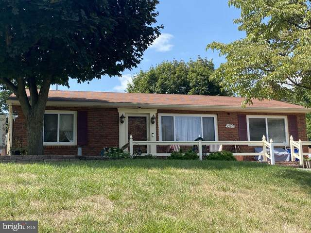 57 Nottingham Road, HAGERSTOWN, MD 21740 (#MDWA2001900) :: The Maryland Group of Long & Foster Real Estate