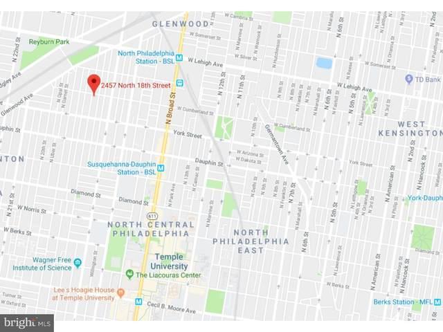 2457 N 18TH Street, PHILADELPHIA, PA 19132 (#PAPH2025466) :: The Dailey Group