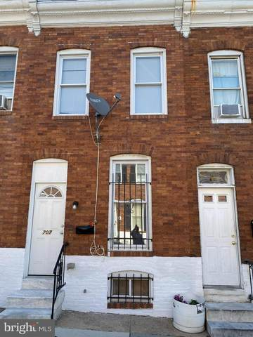 707 N Glover Street, BALTIMORE, MD 21205 (#MDBA2010526) :: The Maryland Group of Long & Foster Real Estate