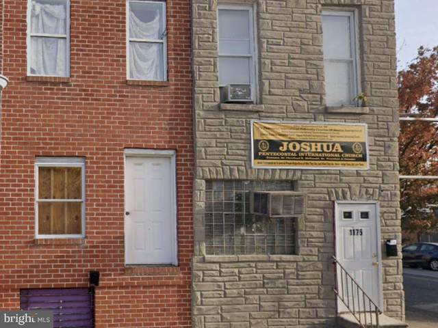 1175 Sargeant Street, BALTIMORE, MD 21223 (#MDBA2010766) :: The Mike Coleman Team