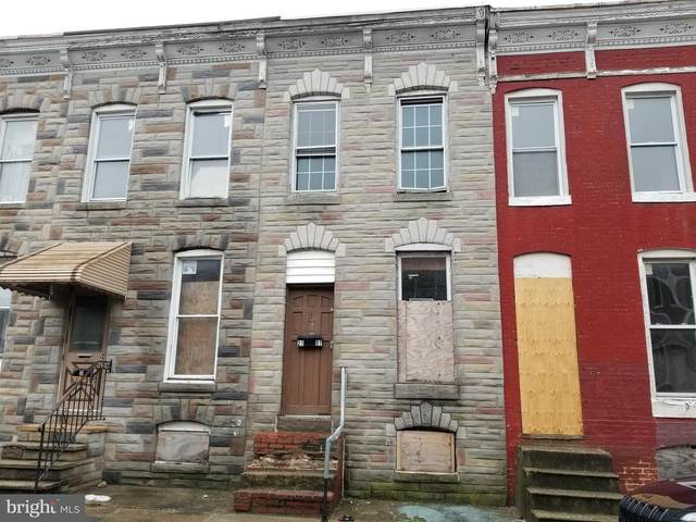 2105 Wilhelm Street, BALTIMORE, MD 21223 (#MDBA2011114) :: The Maryland Group of Long & Foster Real Estate