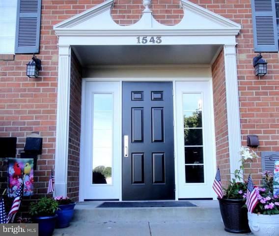 1543 Colonial Drive #104, WOODBRIDGE, VA 22192 (#VAPW2007976) :: CENTURY 21 Core Partners
